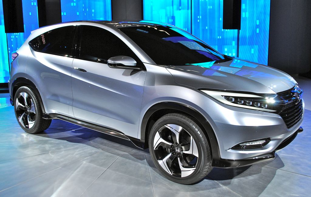 honda urban suv concept new small suv debuts at detroit auto show. Black Bedroom Furniture Sets. Home Design Ideas