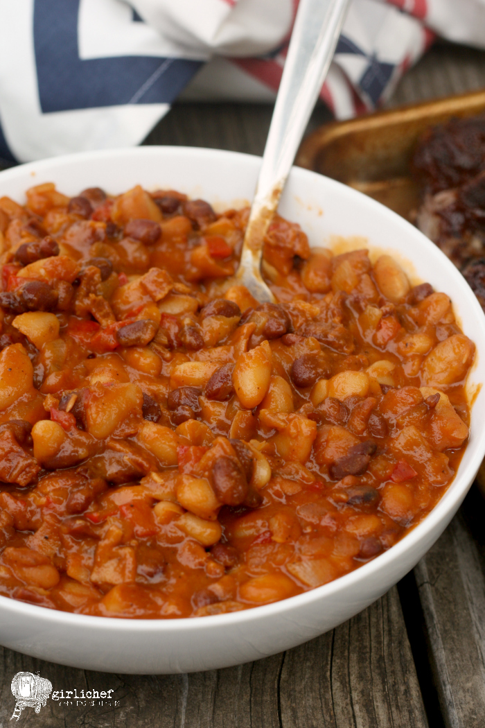 Slow Cooker Baked Beans - All Roads Lead to the Kitchen