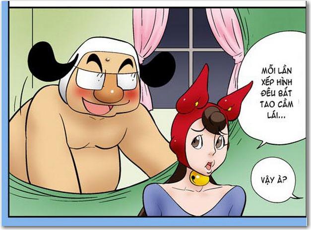 Kim Chi va Cu Cai phan 778 - Say. Các bạn đang xem truyện tranh 18+ Kim Chi và Củ Cải phần 778 - Say tại góc thư giản