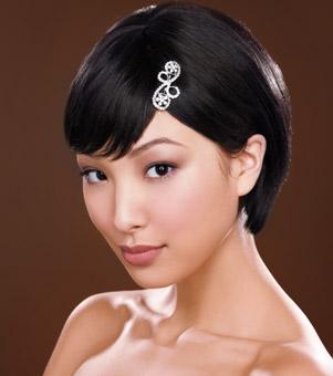 Các kiểu tóc ngắn cho cô dâu