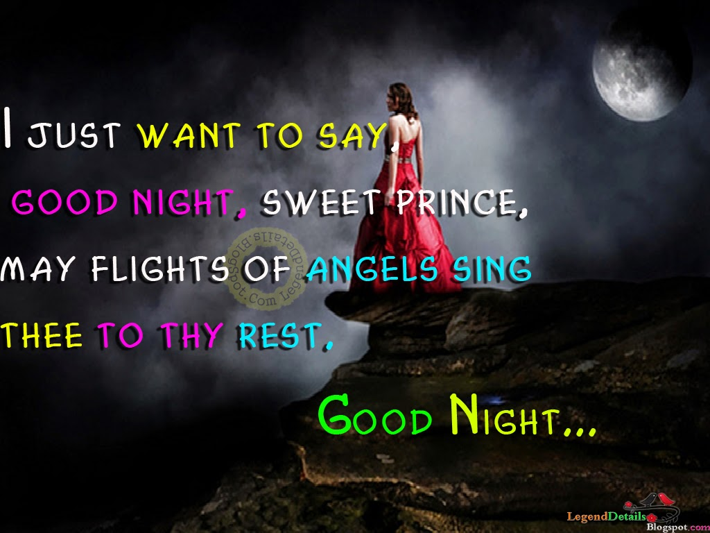 Good Night Quotes HD Images sms  Legendary Quotes