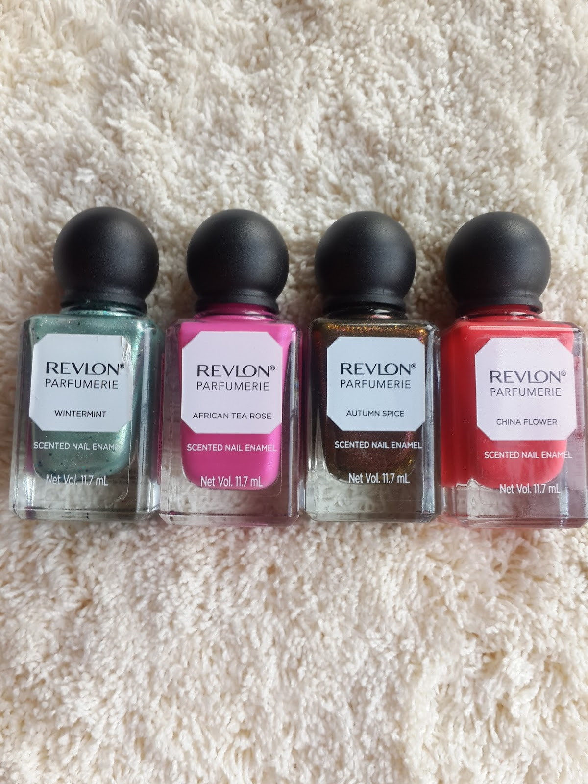Ridzi makeup revlon parfumerie nail enamel review autumn spice i ended up getting 4 shades autumn spice is bronze color having purple green glitters with cinnamon vanilla scent perfect for winter season i totally loved izmirmasajfo