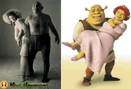 Este homem foi a fonte de inspiração para a criação do ogre Shrek