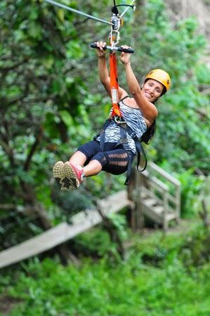 Twin Falls Zipline maui Hawaii
