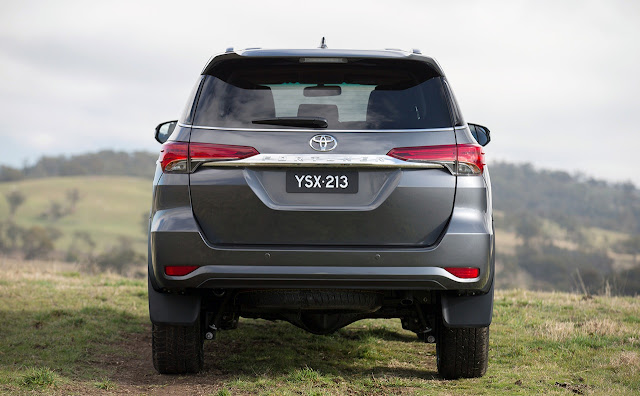 All NewToyota Fortuner 2016 metalic back