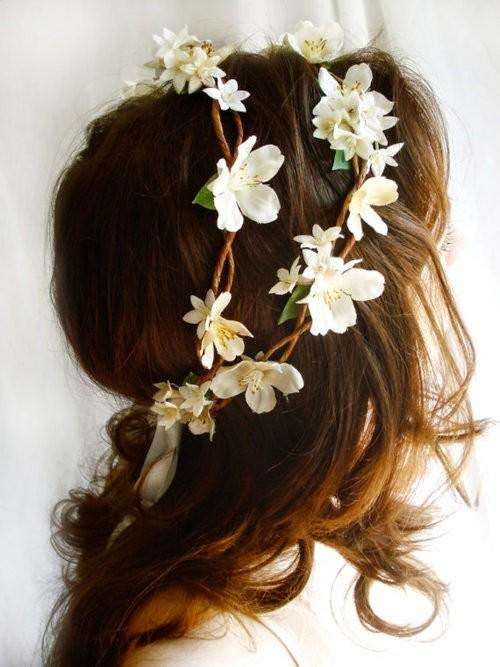 Peinados para Niña de las Flores