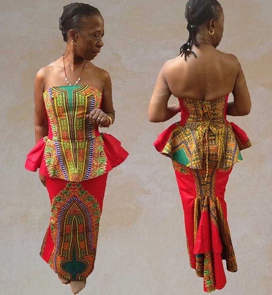 ASYA AS'BAH BLOG: LATEST AFRICAN PRINT STYLES.....