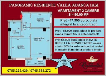 Apartament 2 camere - 50 mp