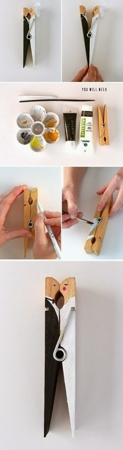 23 Adorable DIY Ideas You Can Make With Clothespins