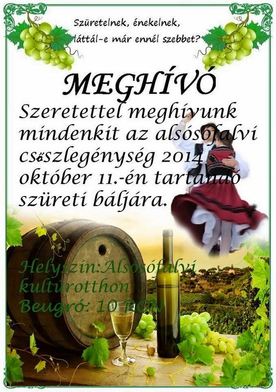 Szüreti bál - 2014