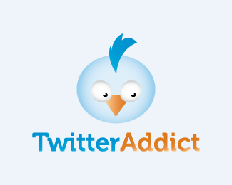 Twitter Based Logos Design