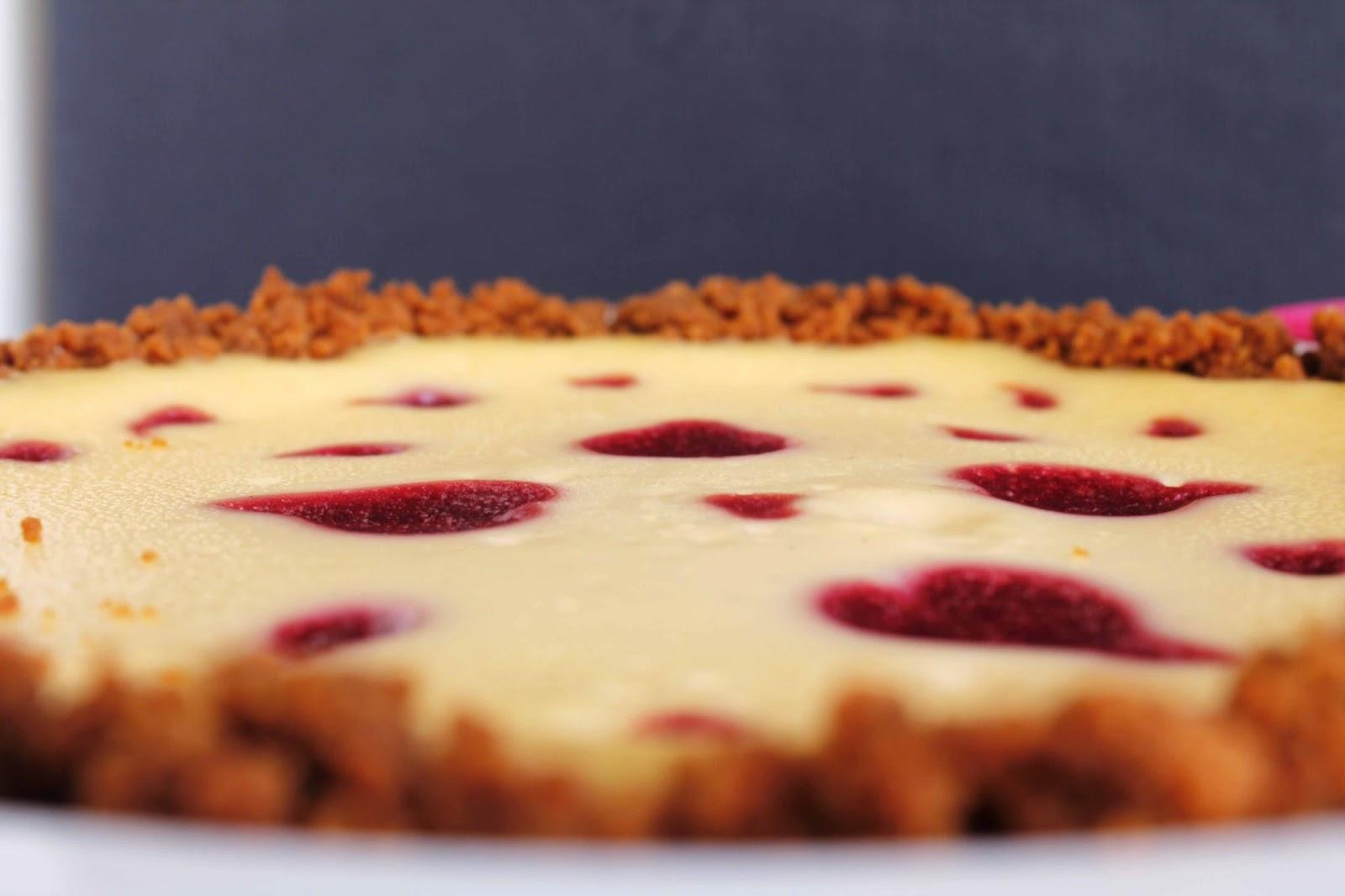 Receta Cheesecake de chocolate blanco y fresas