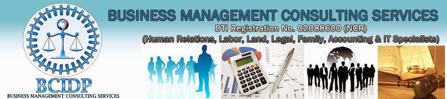 BCIDP Consultancy
