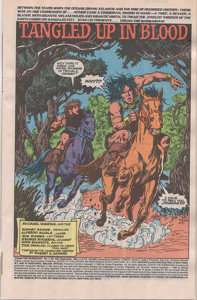 Conan the Barbarian (1970) Issue #236 #248 - English 2