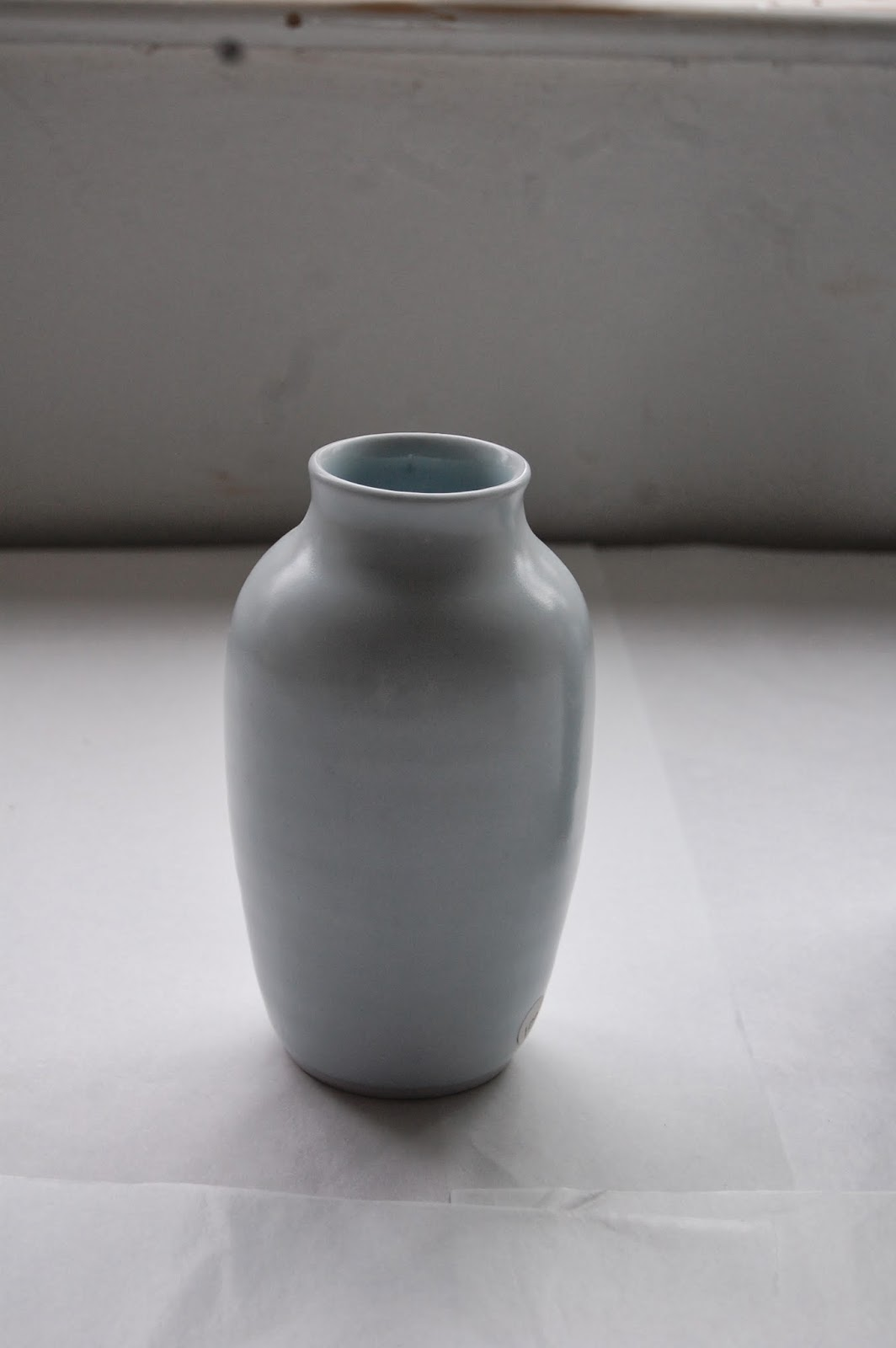 Michel Francois handmade Porcelain vase
