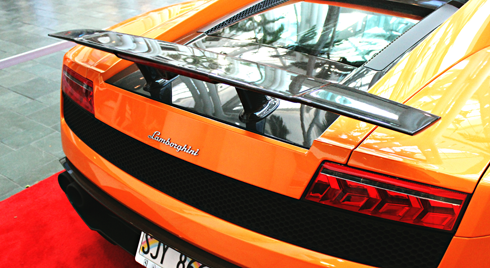 lamborghini first hawaiian auto show