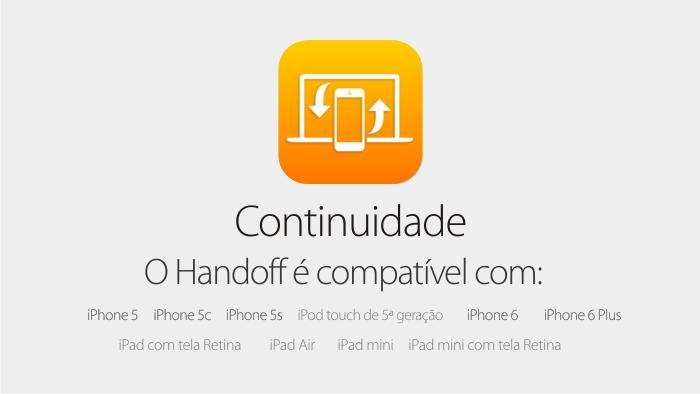 Handoff - iOS 8