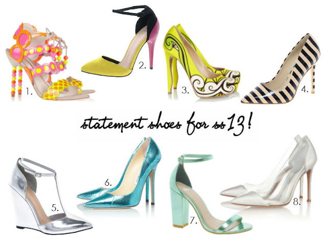 SS13 STATEMENT HEELS SOPHIA WEBSTER