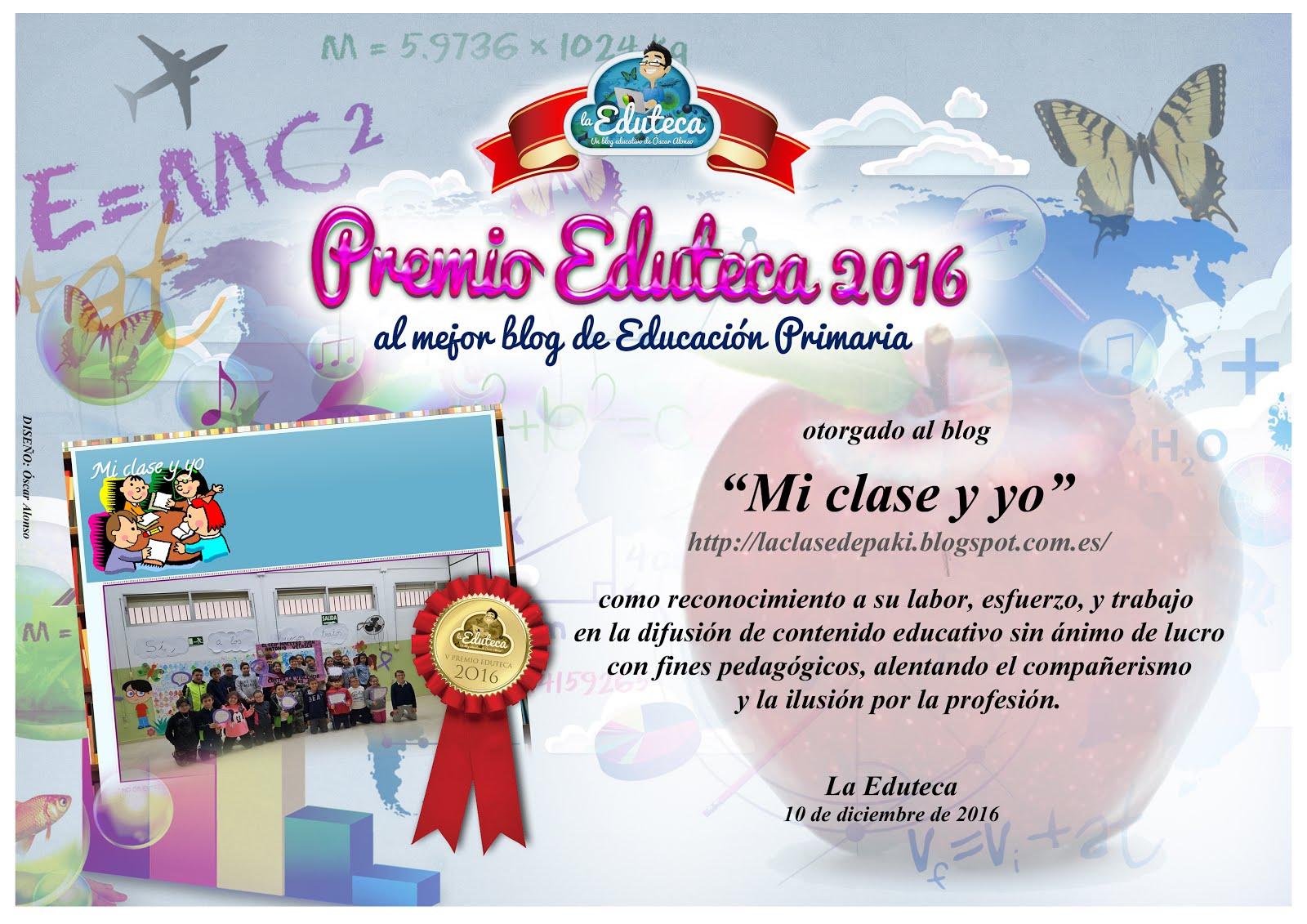 V Premio Eduteca 2016