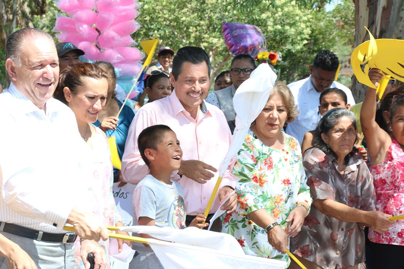 RICARDO GALLARDO INICIA REHABILITACIÓN DEL ÁREA RECREATIVA RANCHO VIEJO