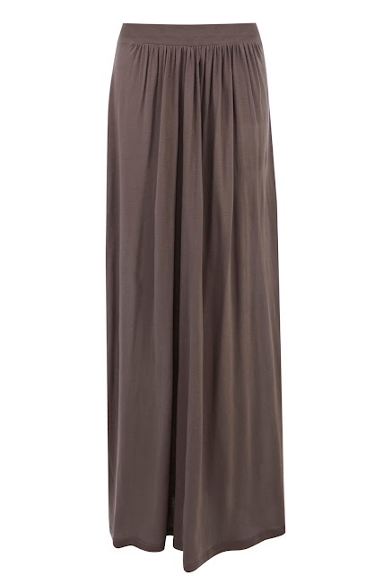 column maxi skirt