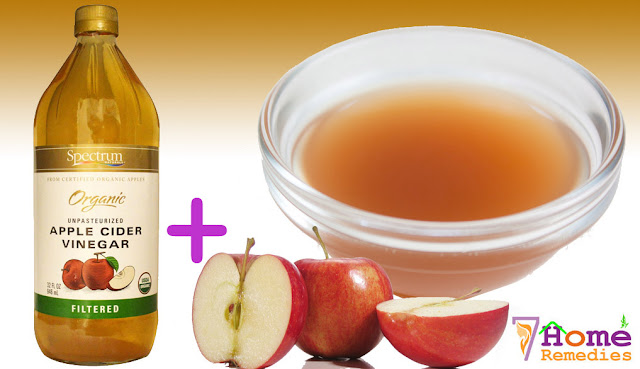 Apple vinegar after conditioning hair