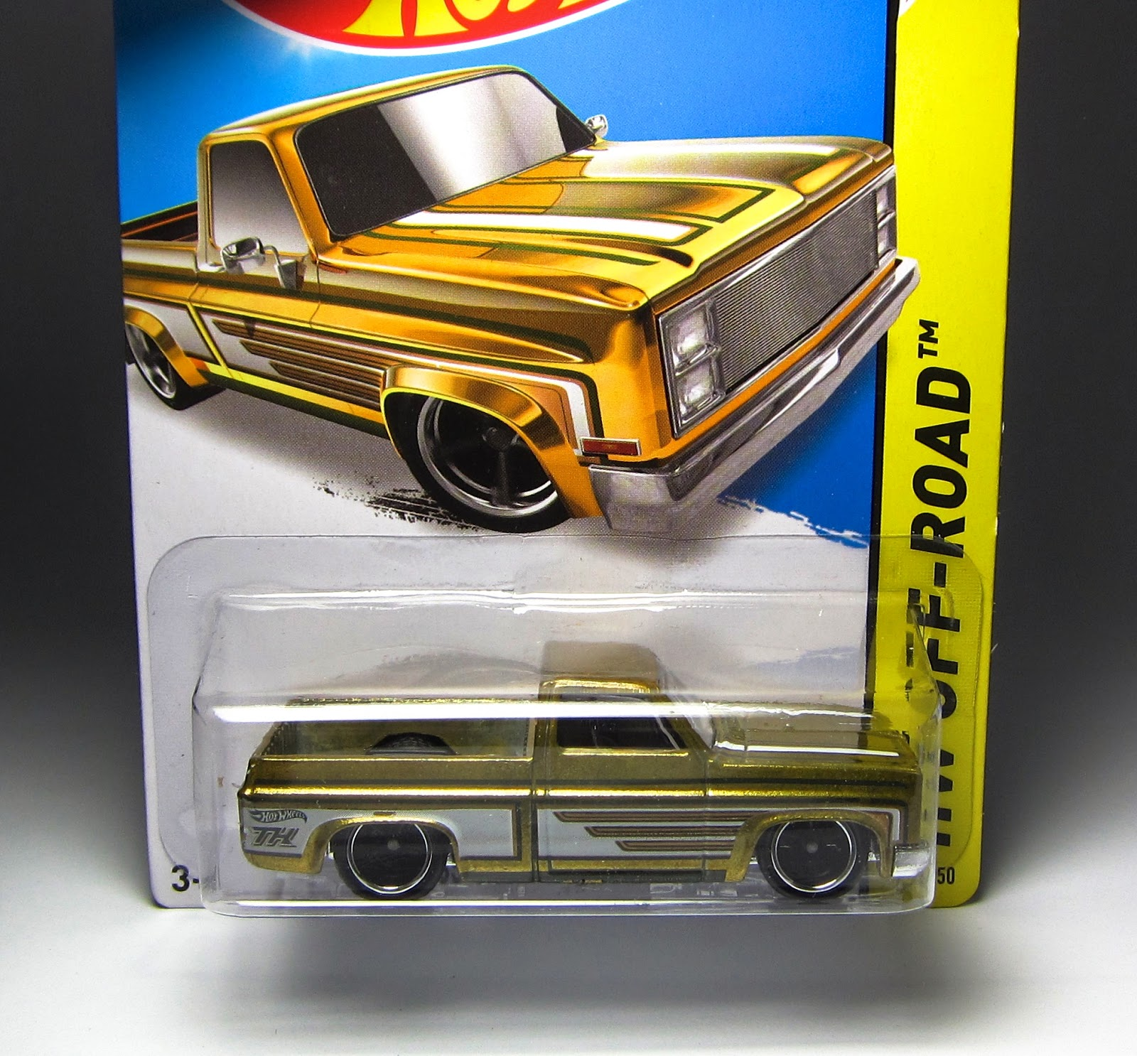Hot Wheels '83 Chevy Silverado, Part 1 - 2014 Super Treasure Hunt
