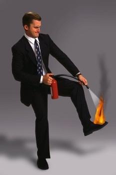 Planeje-se ou se torne um apagador de incêndios,liderança