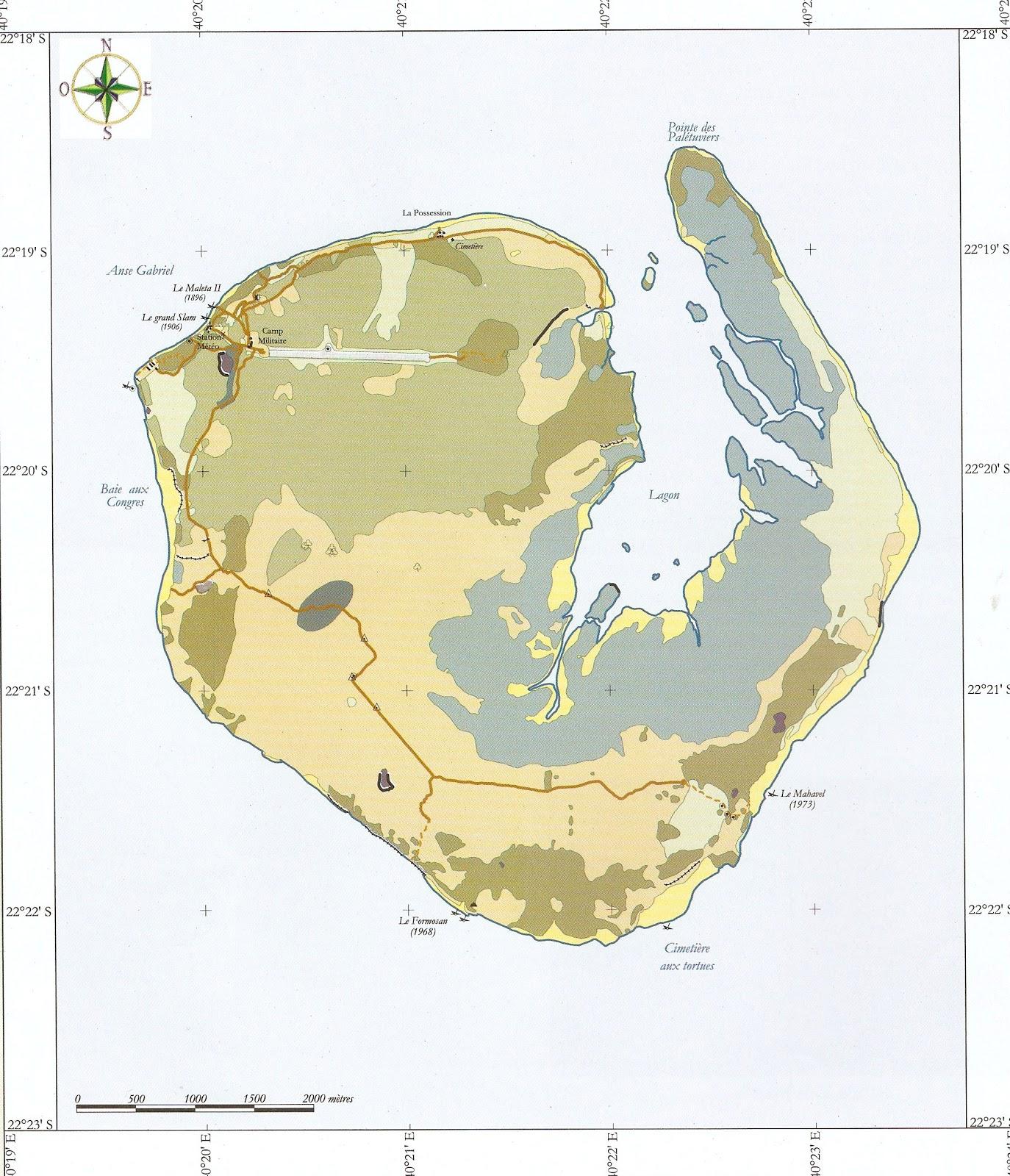 La marcophilie navale europa joyau naturel des eparses for Desherbant naturel grande surface