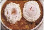 huevos al azafran, recetario, recetas de cocina