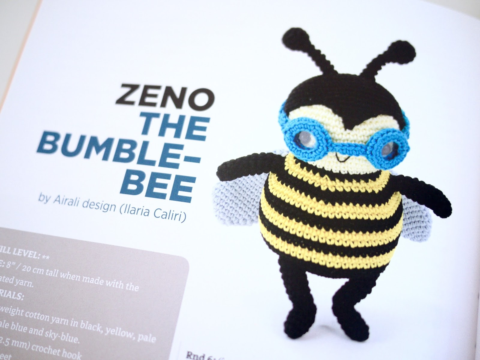 Zoomigurumi 4 Zeno The Bumble-Bee
