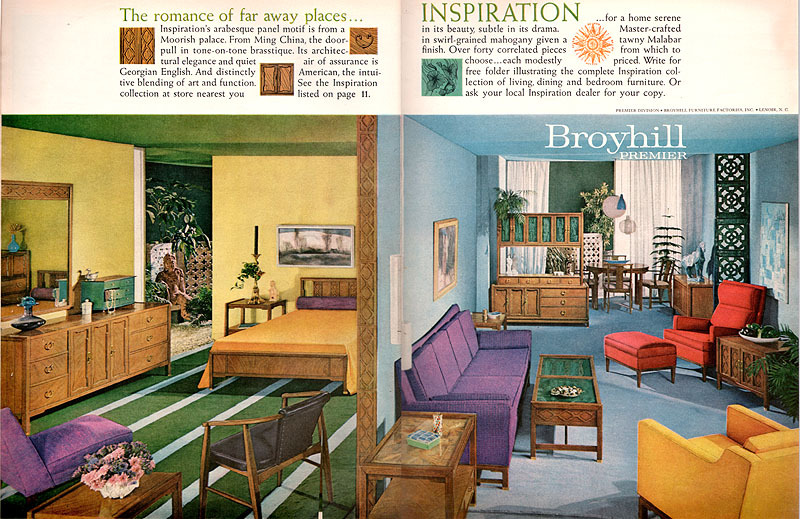 Mad For Mid Century: Mid Century Inspiration By Broyhill Premier Furniture