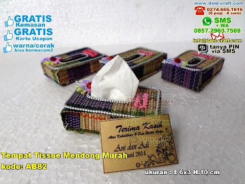 Tempat Tissue Mendong Murah