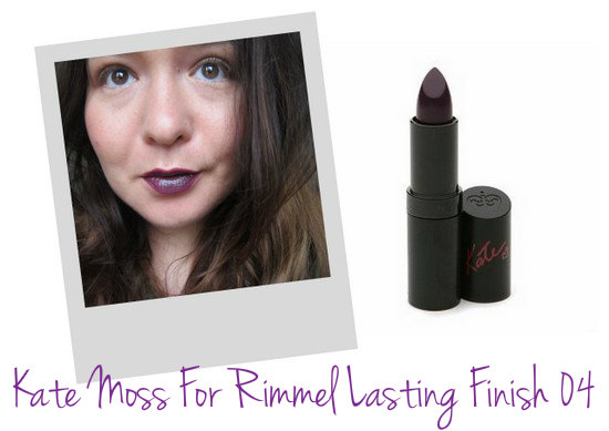 Kate Moss for Rimmel Lasting Finish Lipstick 04