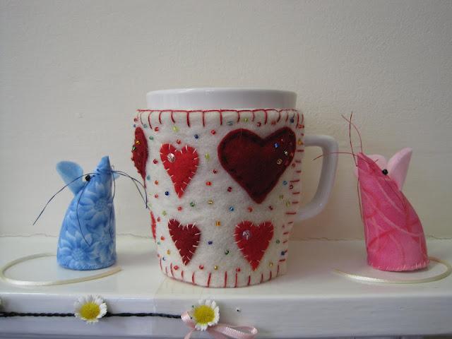 Tina's Allsorts, Heart Mug Hug