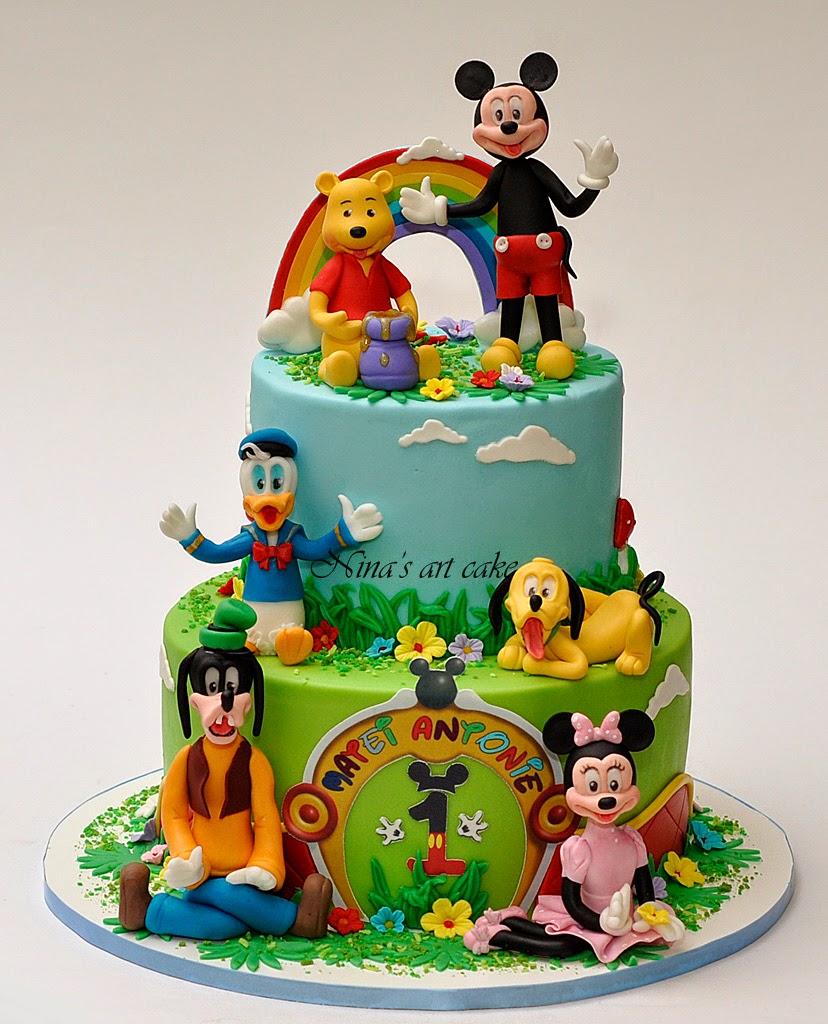 "Tort ""Mickey & friends"" pentru Matei"