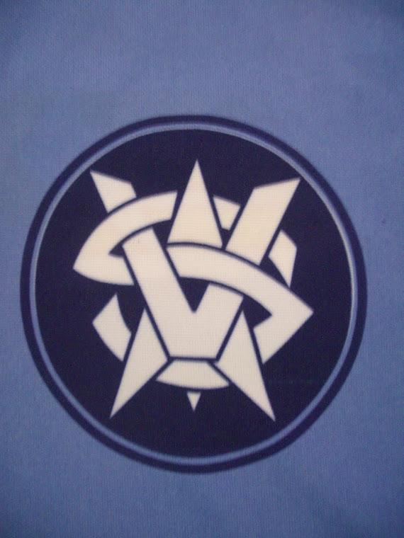 Brasão Azul e Branco