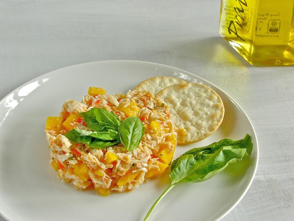 freshfromevaskitchen: Crab Salad