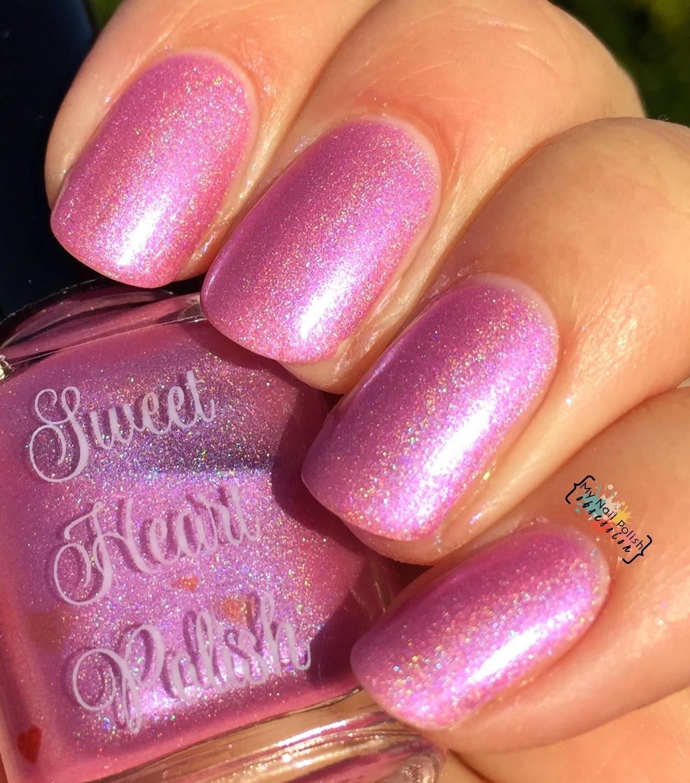 Sweet Heart Polish Me time jou