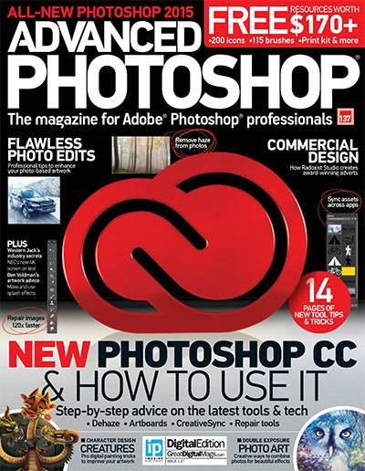 Advanced Photoshop Magazine Issue 137 2015