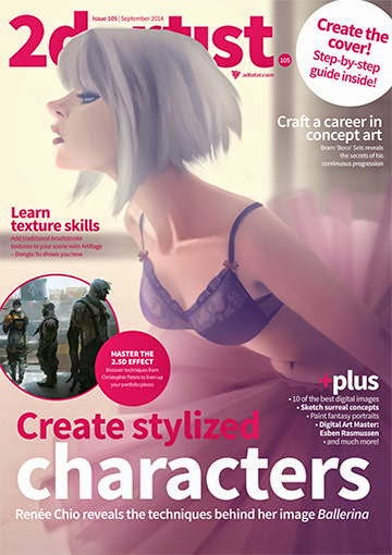 2D Artist Magazine Issue 105 September 2014