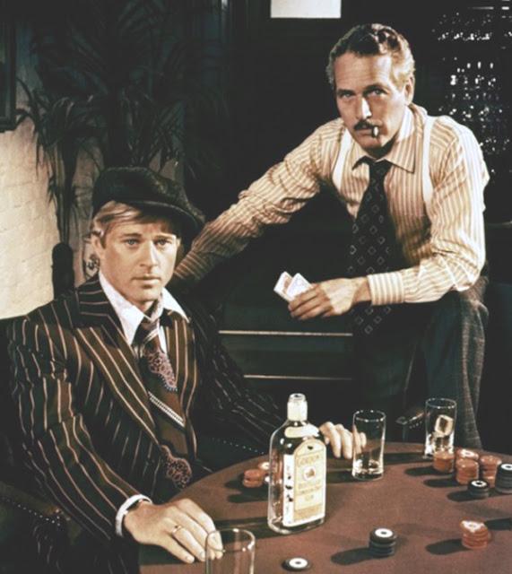 Paul Newman y Robert Redford en el Golpe