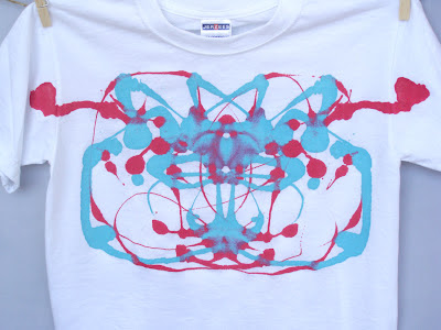 Abstract childs t-shirt design