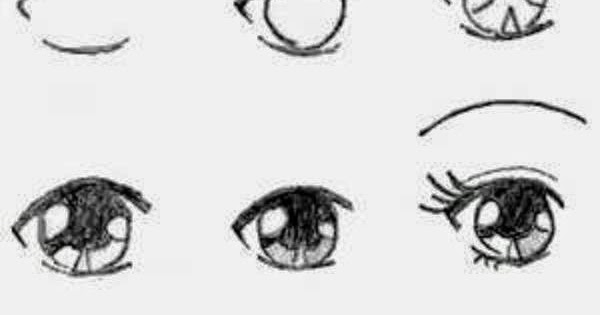 how to draw manga eyes step by step  Learn To Draw And Paint