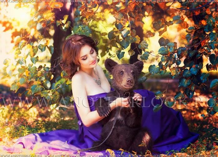 креативная фотосессия с животными