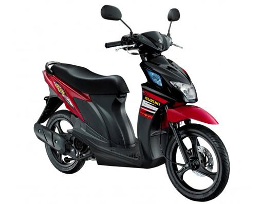 Motorcycle Race  Suzuki Nex Two Tone 2013 Specifications