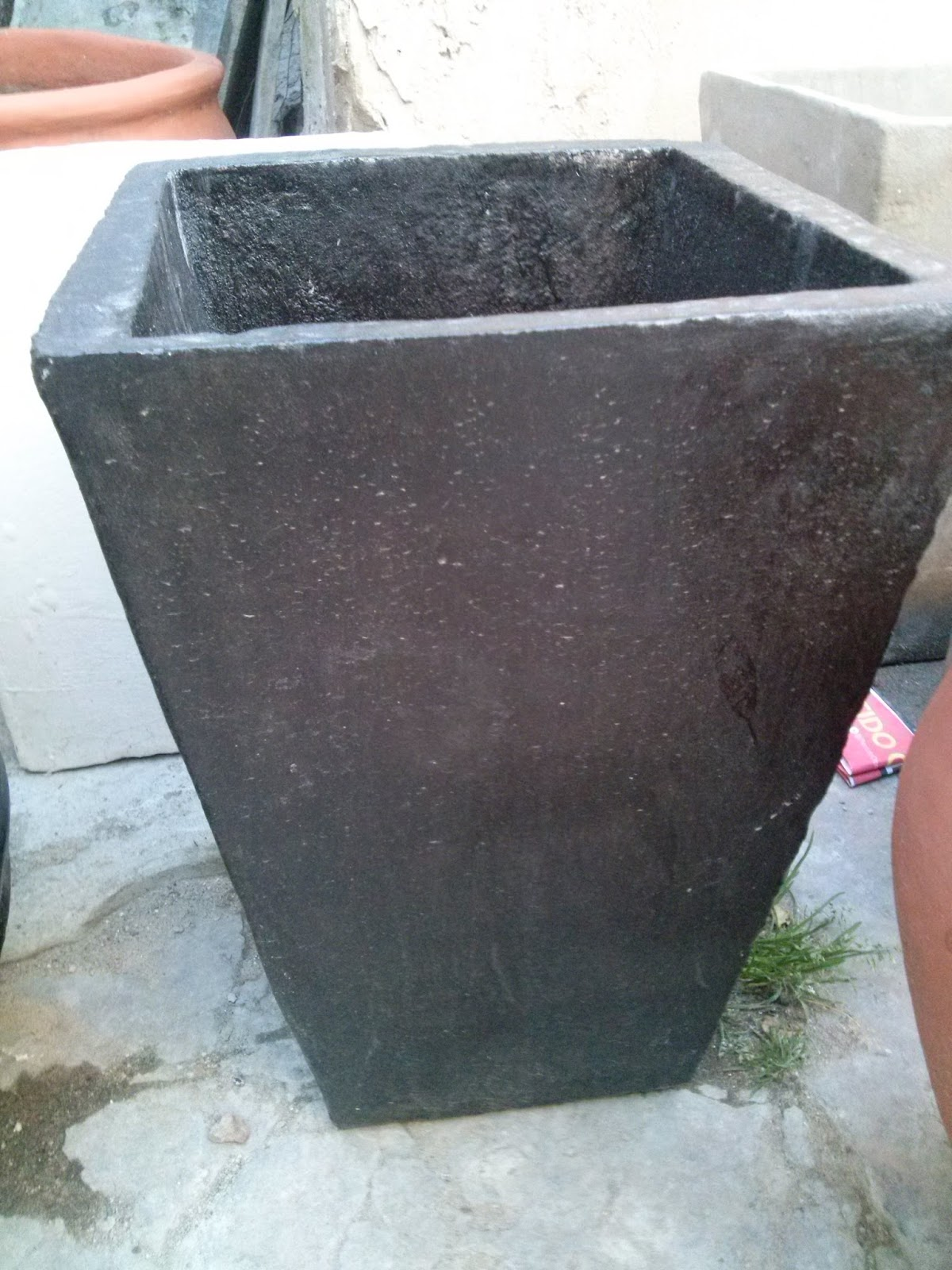 Moldes para hacer macetas de cemento macetas - Moldes de cemento ...