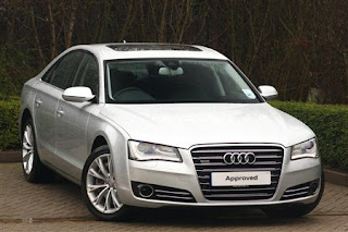 front view of Audi A8 Diesel 4.2 Tdi
