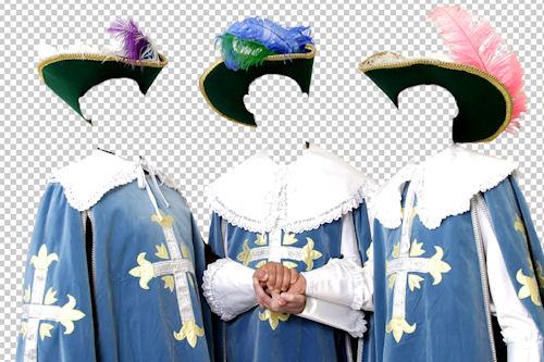 Coloca aquí el rostro de tus amigos (Tres Mosqueteros)