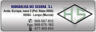 Hidráulica del Segura, s.l. - Oleohidráulica, neumática y estanqueidad en Murcia